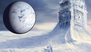 Melting icebergs in Antarctica will lead to an ice age on Earth