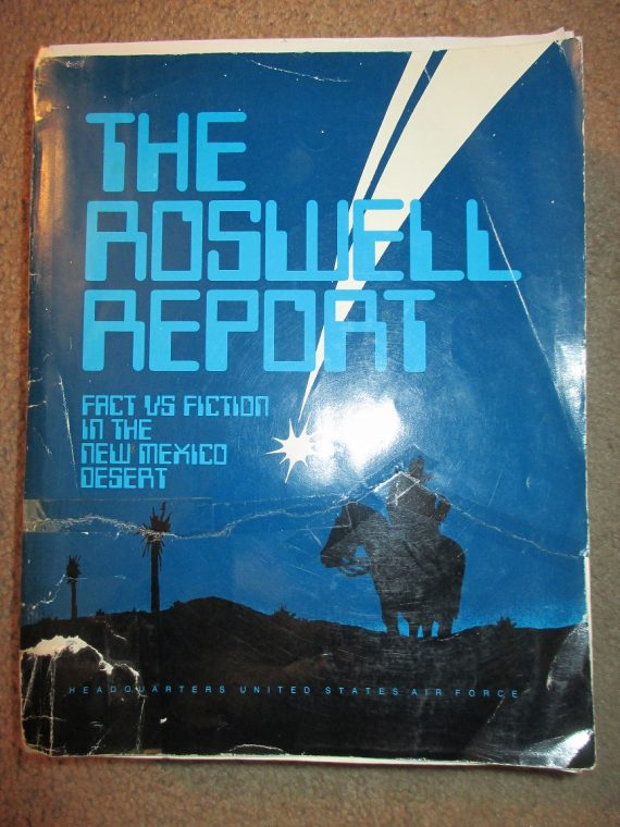 """Missing Files and the Roswell """"UFO"""" Affair: Sanitizing and Skewing"""