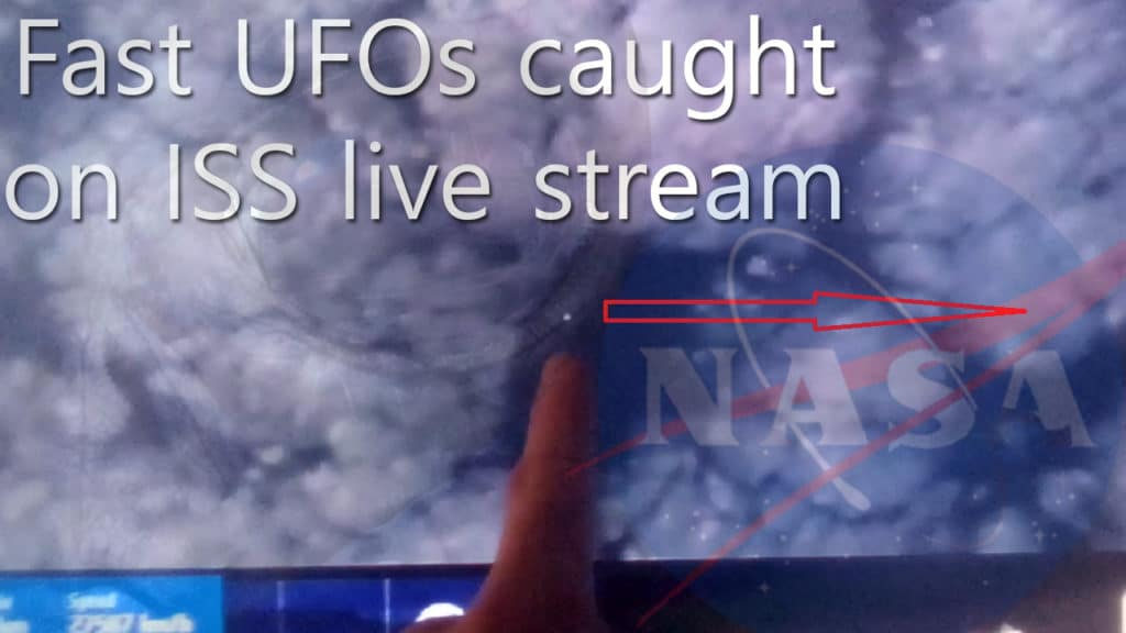 *MUST SEE* fast UFOs filmed during NASA's live ISS stream – 2021