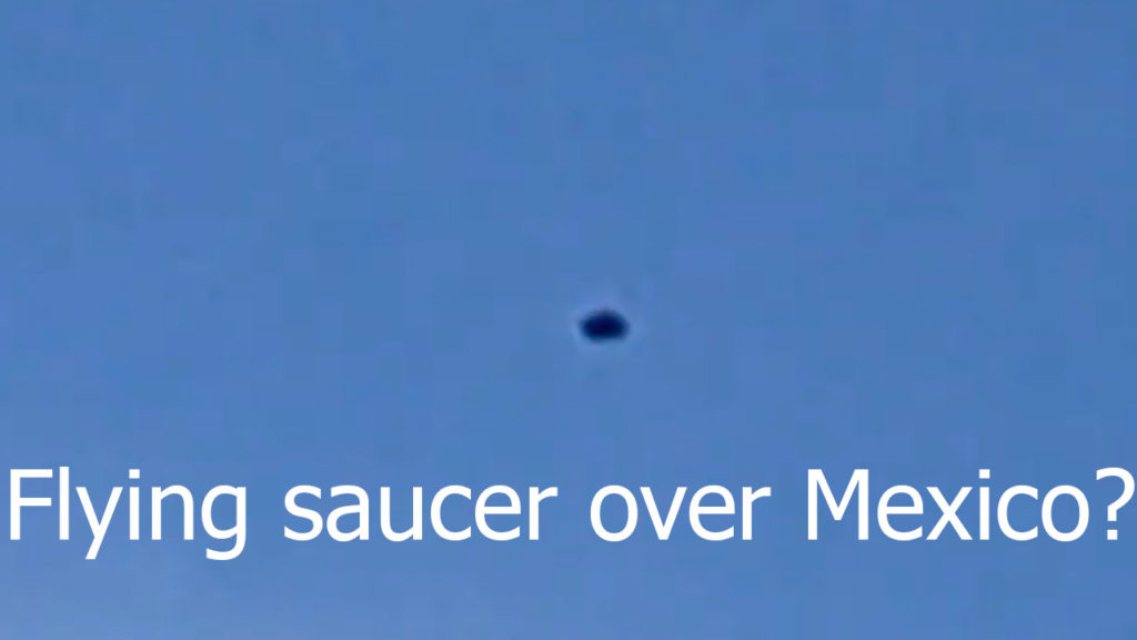 Possible flying saucer filmed over Tempiluli, Mexico 11-Jan-2021