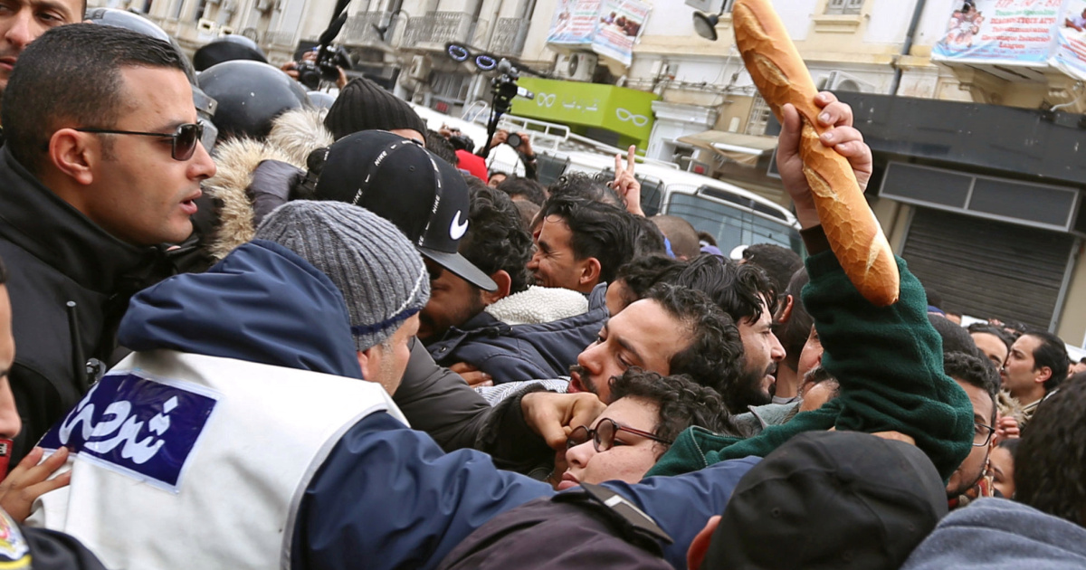 Protests erupt in Tunisian cities amid anger over poor economy