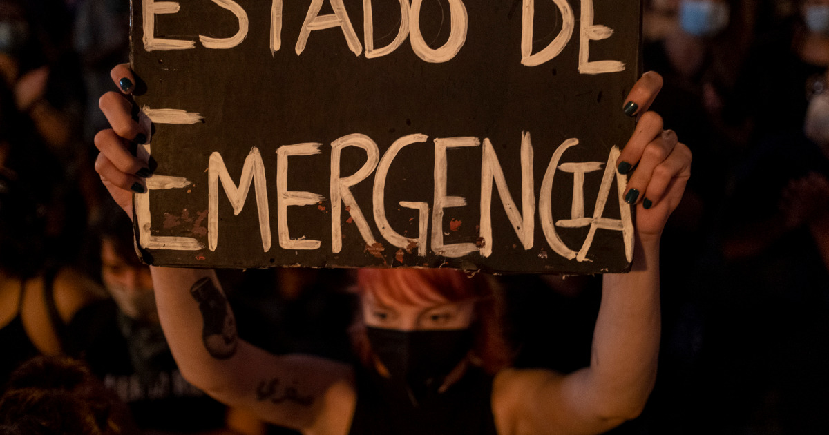 Puerto Rico declares state of emergency over gender violence