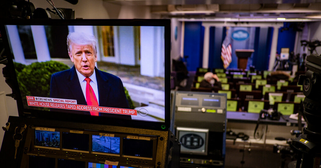 Stripped of Twitter, Trump Faces a New Challenge: How to Command Attention