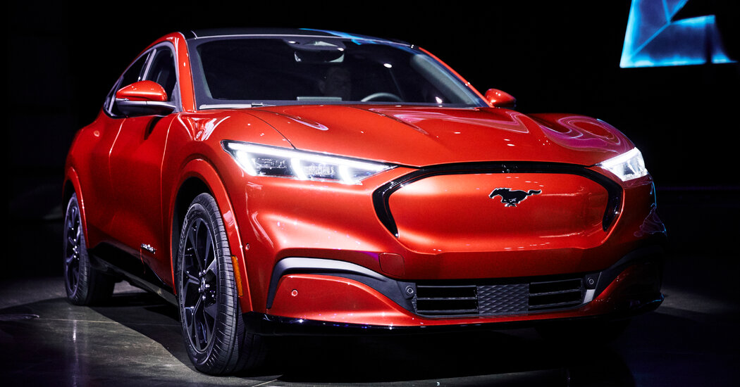 Tesla Might Finally Have Some Competition. From Ford.