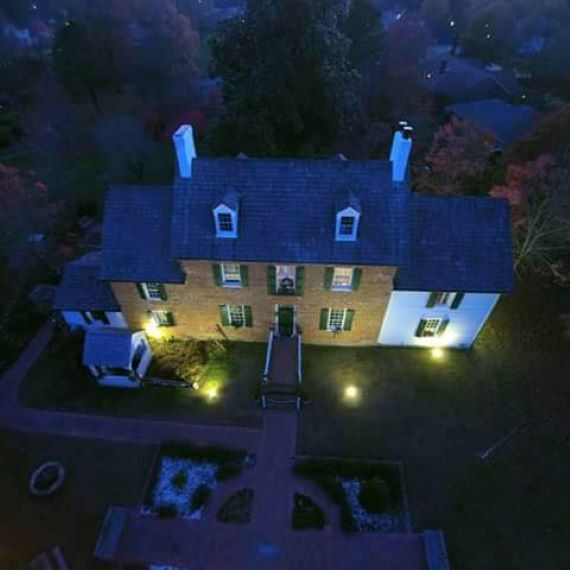 The Mysterious Haunted Ferry Plantation House
