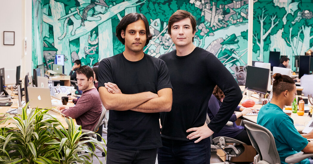 The Silicon Valley Start-Up That Caused Wall Street Chaos