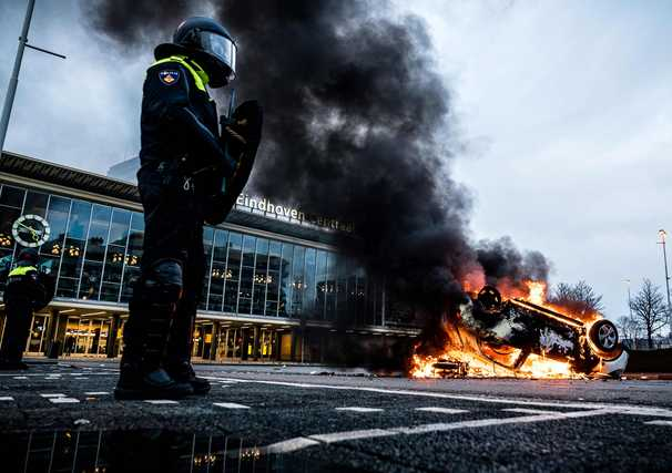 Three nights of anti-lockdown violence in the Netherlands