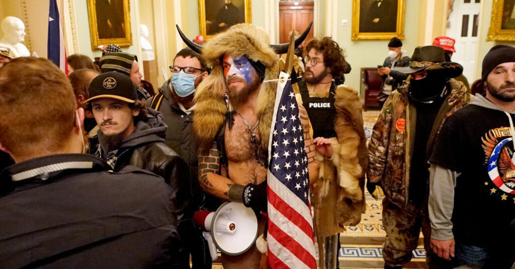 Trump Loyalists Arrested and Charged With Involvement in Capitol Siege