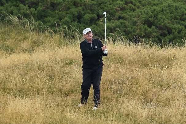 Trump warned by Scottish leader to stay away amid reports he might travel to his golf resort to skip inauguration
