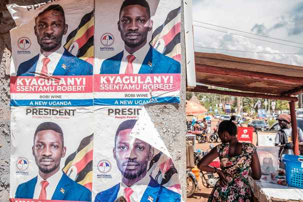 Uganda's election shapes up as a contest of young vs. old