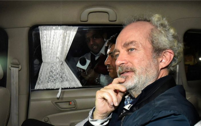 UN to call for release of British businessman held in Indian jail over £500m helicopter deal