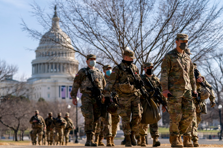 US states brace for potential violence before Biden inauguration