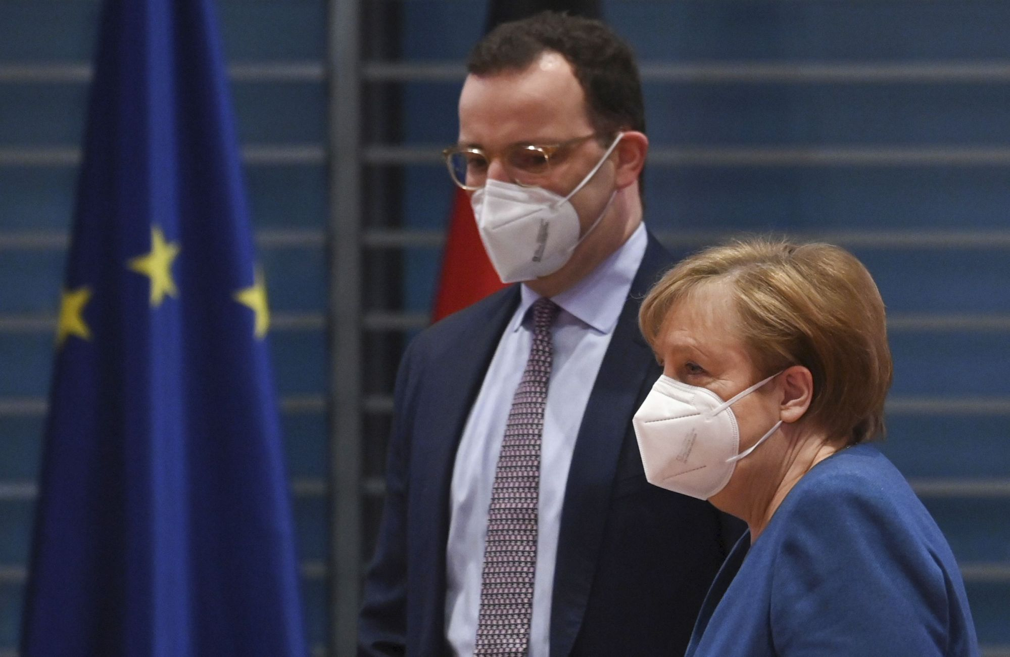 Virus collides with politics as German election year starts