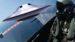 'Aliens watching the military'- Spate of UFO sightings reported near air field base