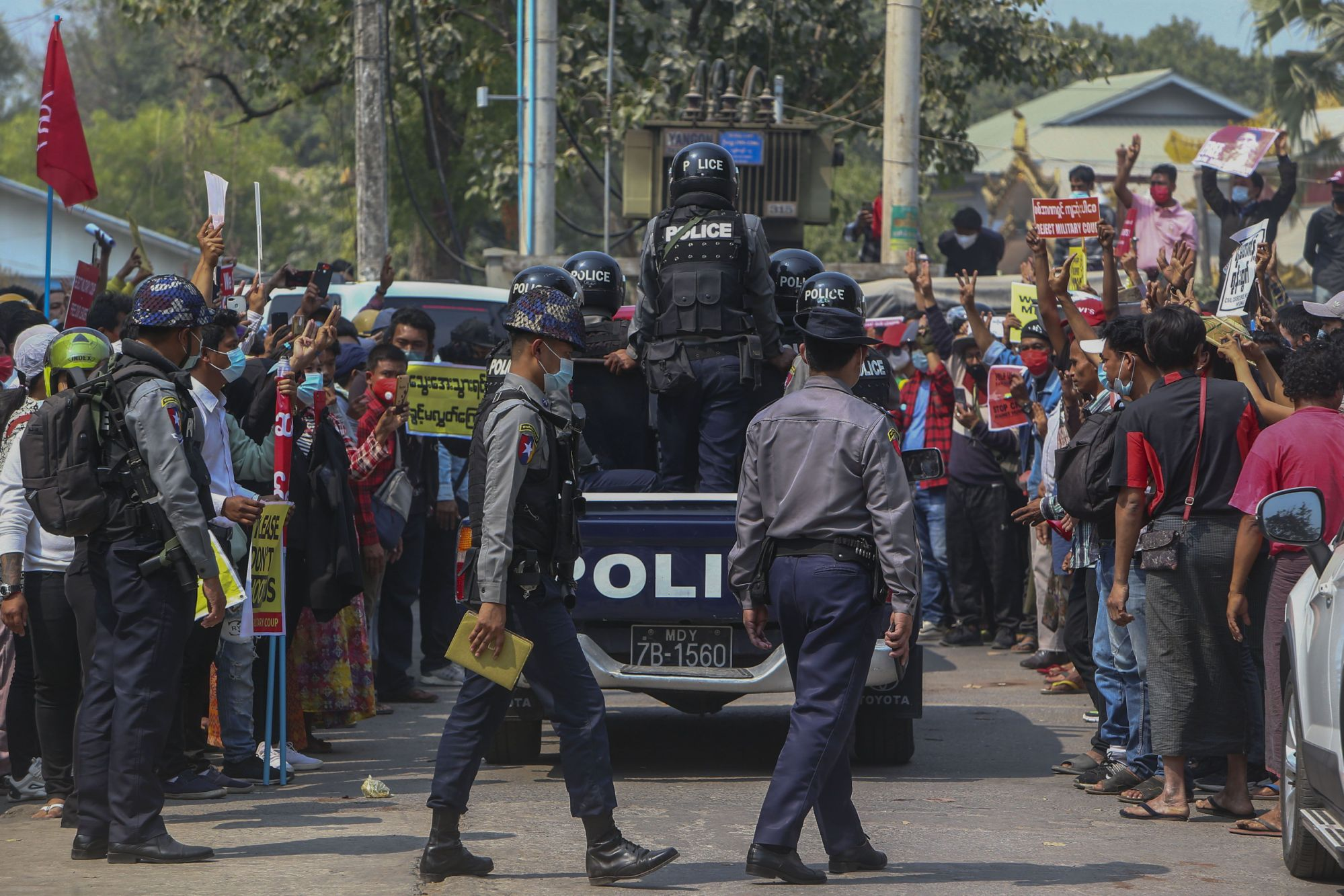 AP Interview: Myanmar troops said to be moving to cities