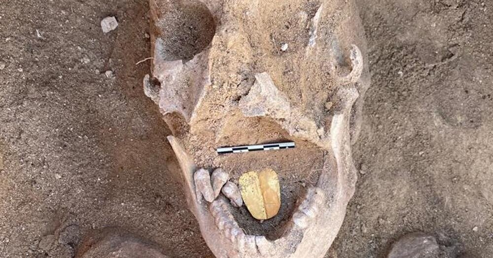 Archaeologists Find Mummies With Golden Tongues