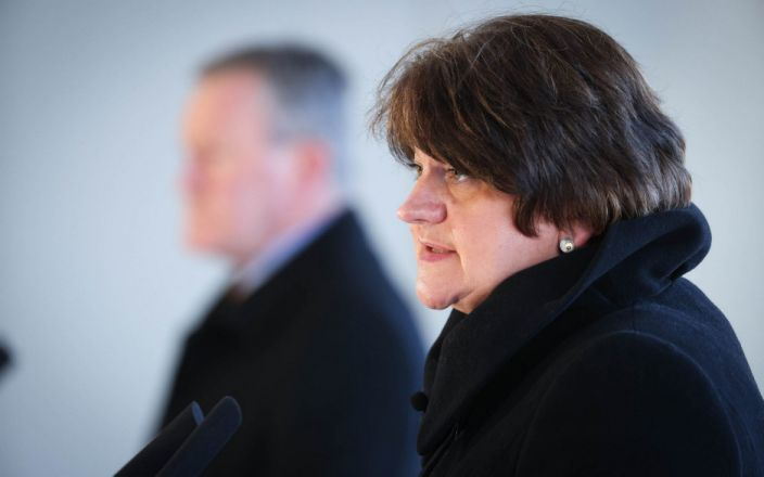 Arlene Foster launches legal challenge to Northern Ireland protocol
