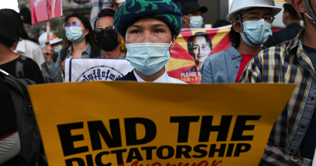 Global backlash grows after Myanmar forces kill two protesters