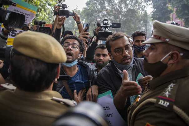 In India, a climate activist's arrest shows shrinking space for dissent