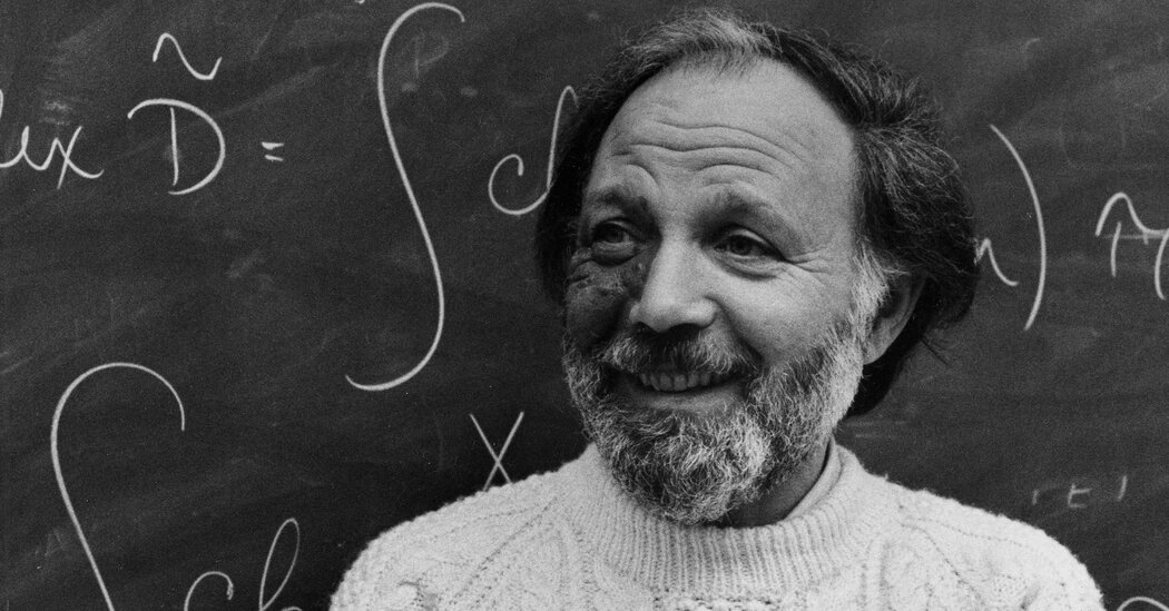 Isadore Singer, Who Bridged a Gulf From Math to Physics, Dies at 96