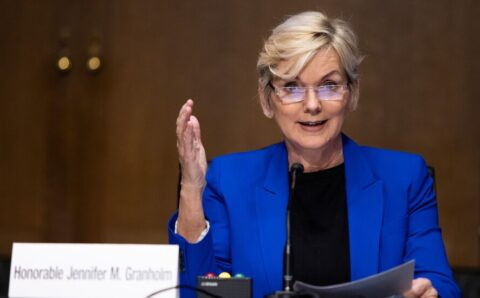Jennifer Granholm is confirmed as energy secretary.