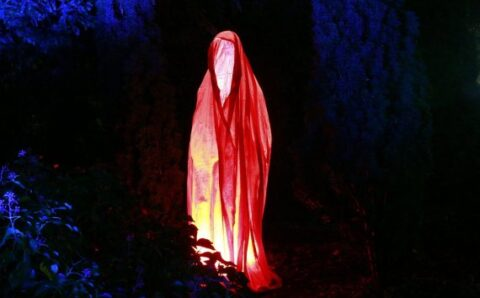 """""""Lady in Red"""" Captured on Video at Haunted Astley Castle"""