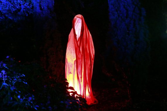 """Lady in Red"" Captured on Video at Haunted Astley Castle"