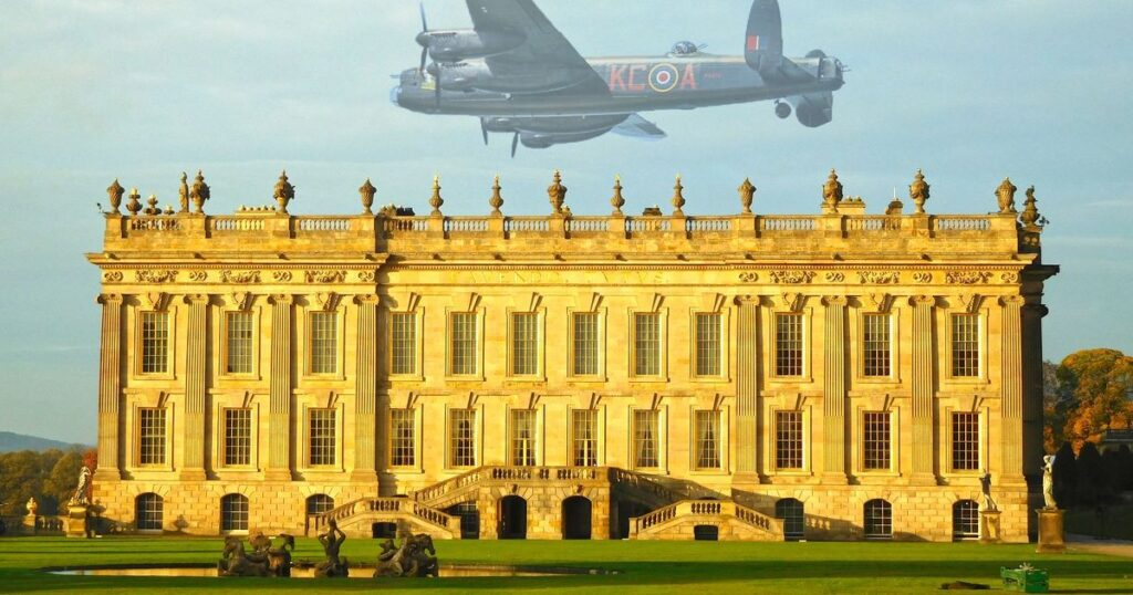 Mystery Of 'Ghost' Lancaster Bomber Sighted Over Chatsworth – DerbyshireLive