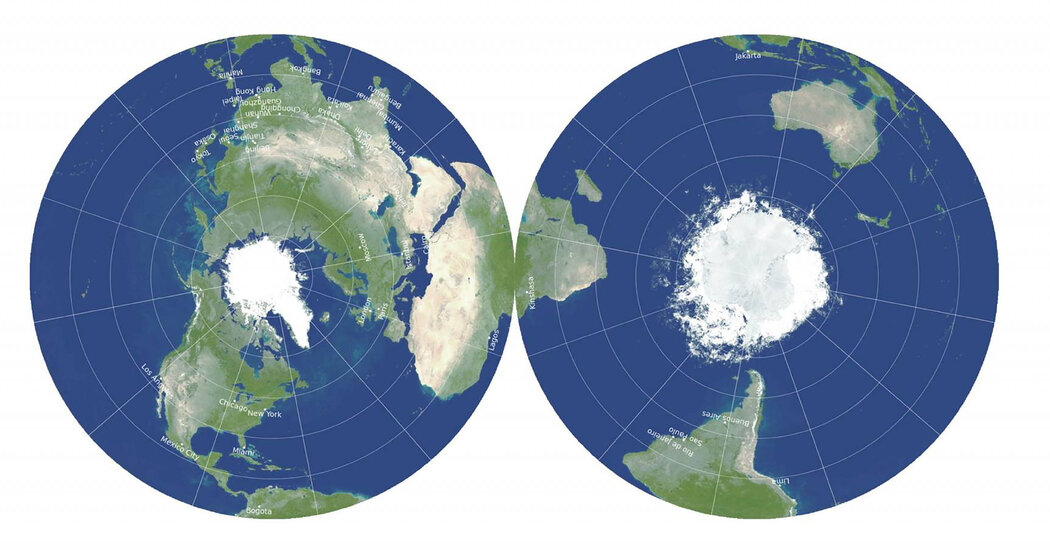 New World Map Tries to Fix Distorted Views of Earth