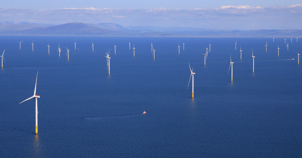 Oil Companies BP and Total Win Offshore Wind Leases in Britain