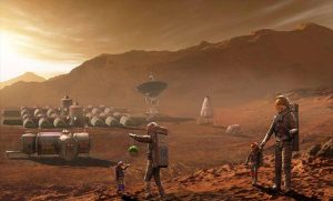 Scientist spoke about the creation of a million-plus city on Mars