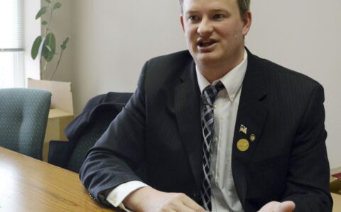 South Dakota's attorney general charged in fatal crash