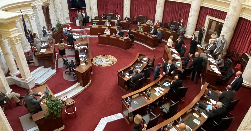 State Lawmakers Defy Governors in a Covid-Era Battle for Power
