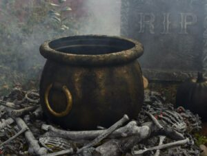 The Legend of Cursed Cauldron of Lincolnshire