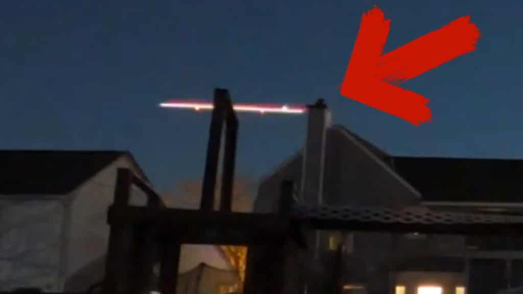 This UFO was caught on tape with…