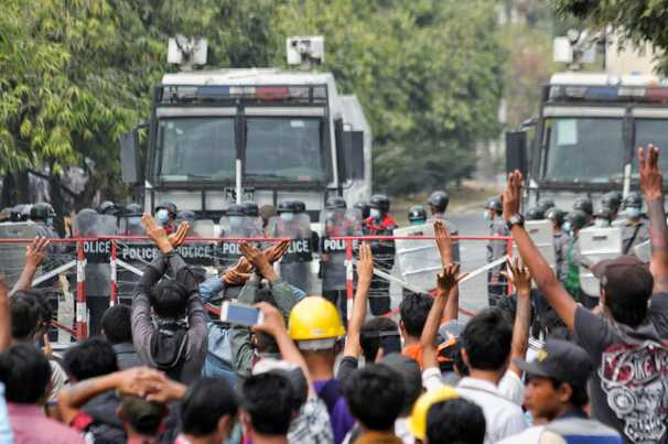 Two more protesters killed in Myanmar as demonstrations against military coup continue