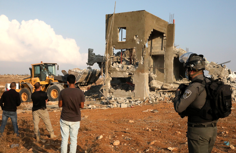 UN, European states call on Israel to halt demolitions