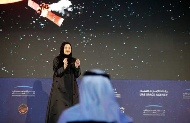 United Arab Emirates' Hope probe reaches Mars orbit