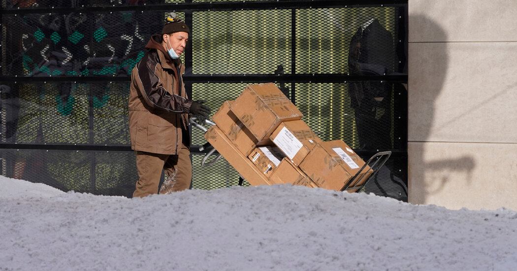 Winter Storm Disrupts Automakers, Retailers and Delivery Services