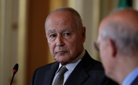 Arab League gives Egyptian Aboul Gheit second five-year term