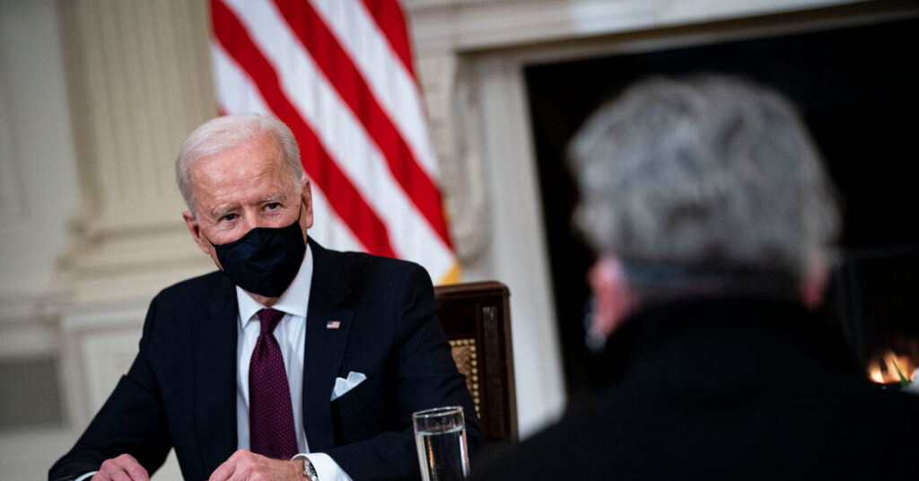 Biden, Champion of Middle Class, Comes to Aid the Poor