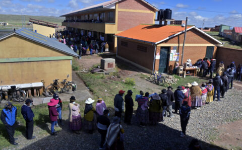 Bolivians vote in local, regional polls amid COVID-19 concerns