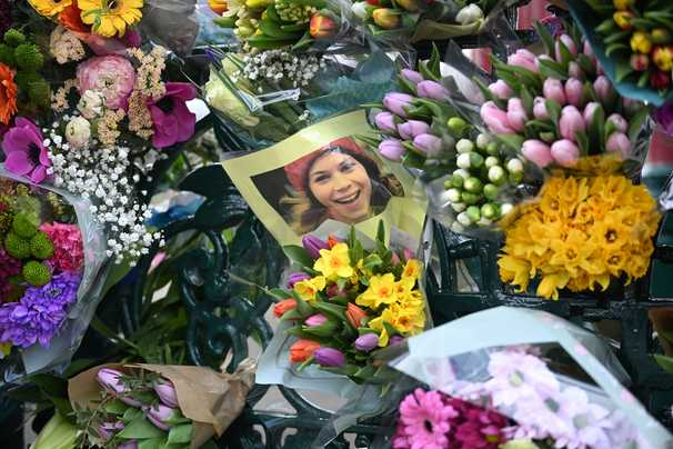 British police clash with mourners honoring slain London woman despite covid restrictions