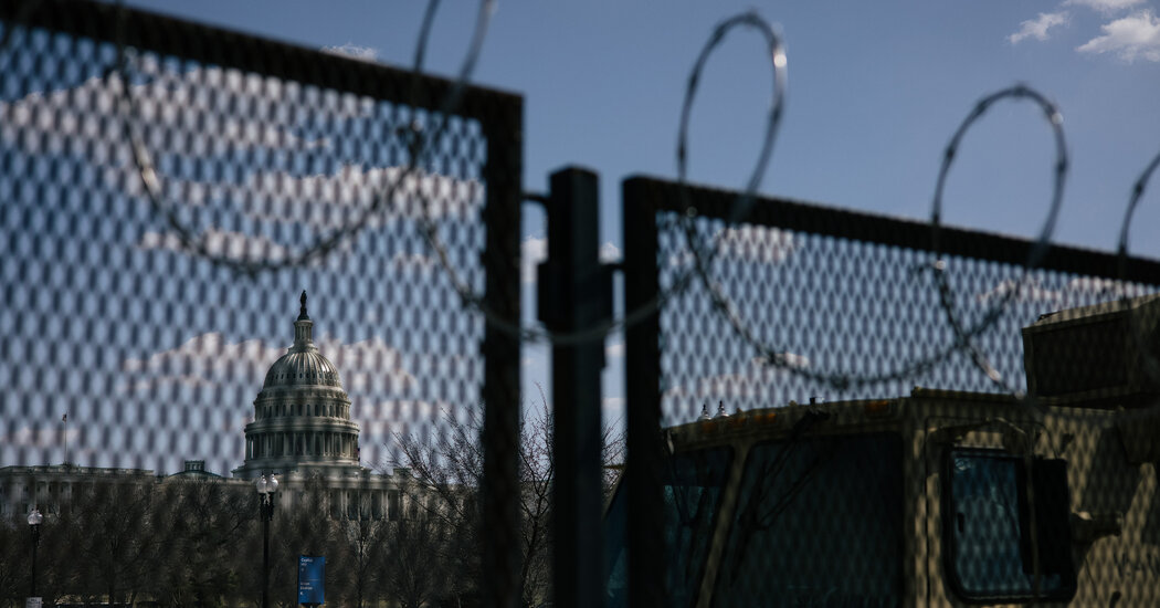 Capitol Police Will Begin Scaling Back Fencing Put Up After Riot