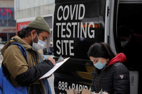 Covid-19 live updates: CDC releases new workplace testing guidance
