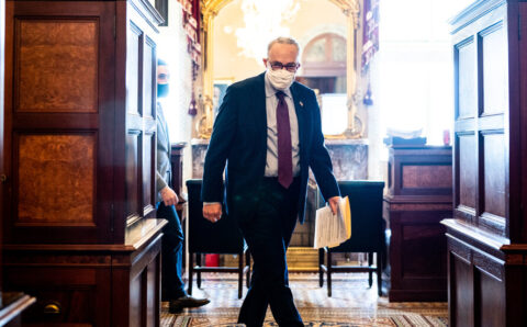 Divided Senate Passes Biden's Pandemic Aid Plan