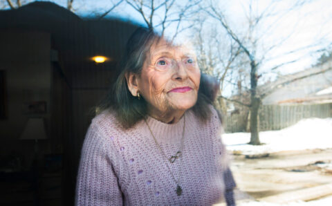 Elderly, Vaccinated and Still Lonely and Locked Inside