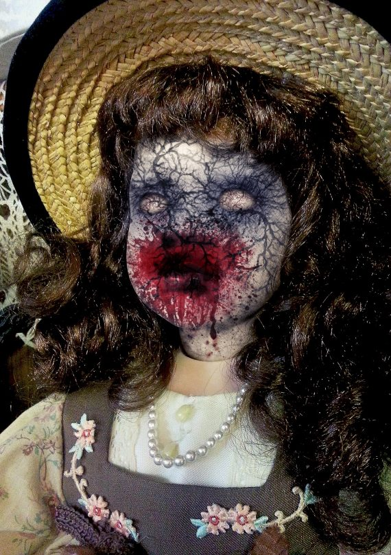 More Terrifying Blood-Stained Dolls Found in English Woods