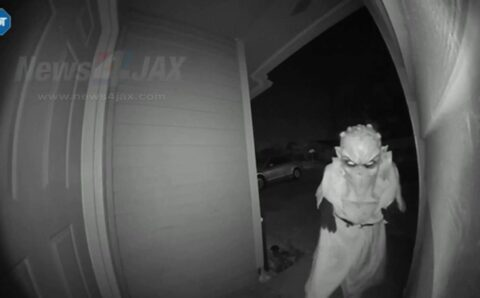 Otherwordly: Person Dressed as Extraterrestrial Swipes Package from Jacksonville Home – News4Jax