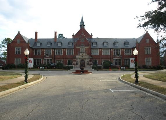 The Mysterious Lady in Red and Other Hauntings at Huntingdon College